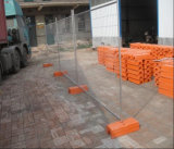 Frontière de sécurité provisoire galvanisée détachable/clôture provisoire
