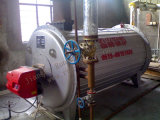 Olie (gas) - de In brand gestoken Boiler van de Olie Themal met de Brander van Italië