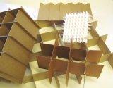 Halb Selbst- u. automatische Karton-Papppartition-montierende Maschine