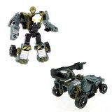 Het super Stuk speelgoed van de Vrachtwagen van de Oorlog van de Robot van de Misvorming van de Blokkenwagen van de Mens Plastic Model
