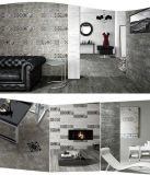 600X600 aclaran la decoración de cerámica del cuarto de baño del azulejo de suelo de Matt del color