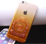 Het hete 3D Verkopen nam Dekking van het Geval van de Telefoon van de Cel van de Gradiënt de Blauwe voor iPhone 6s /6s plus iPhone7/7 plus toe
