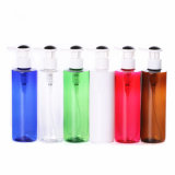 De bruine Fles van de Pomp van de Lotion Plastic voor Schoonheidsmiddel (NB20003)