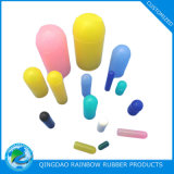 Verschiedene Farben-kundenspezifischer Größen-Silikon-Gummi-Endstöpsel
