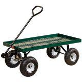 Carro de jardín de la cubierta del metal