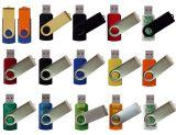 플라스틱과 금속 물자 USB 플래시 디스크