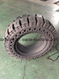 21X8X15 Appuyer-sur le pneu solide, pneus solides de chargeur de boeuf de dérapage