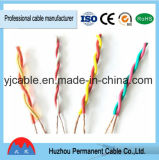Rvs flexibles 2 * 0.5mm2 Cable de par simple par trenzado
