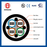 Antena de 288 fibras y cable de cinta del conducto para FTTH Gydta