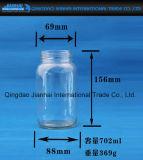Bleifreies Glasflaschen-Küchenbedarf-Essiggurke-Marmeladen-Glas