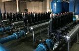 Filtro de disco industrial da água do tipo superior de China