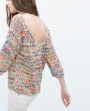 Camisola feita malha da mulher de Fahsion da venda casaco de lã colorido novo