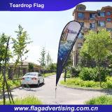 Кожаный защищая знамя флага полиэфира MOQ 1PC изготовленный на заказ, рекламируя знамя
