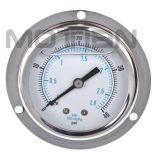 Glicerina Silicon Liquid Oil - Bourdon llenado Tube Pressure Gauge