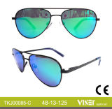 Vidrios del metal de las gafas de sol de los cabritos (85-C)