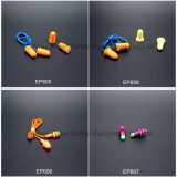 ANSI S3.19 승인 재사용할 수 있는 끈으로 묶인 귀 플러그 (EP606)