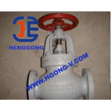 Soupape d'arrêt industrielle de bride d'acier de moulage DIN/robinet d'arrêt sphérique