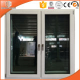 Superior Importado de boa qualidade Janela de madeira maciça, madeira interior com janela de liga de alumínio exterior