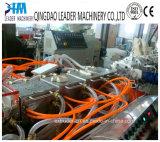 Ligne en plastique d'extrusion de production à la machine d'extrudeuse de profil de fenêtre de PVC/WPC