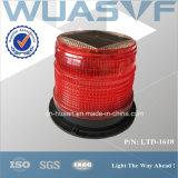 Indicatore luminoso di falò d'avvertimento alimentato solare dello stroboscopio del LED