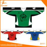 Camisas ajustadas Sublimated de Jersey do hóquei da equipe da impressão de Healong as melhores