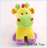 Stuk speelgoed van de Jonge geitjes van het Stuk speelgoed van het Speelgoed van de Pluche van de Koe van de nieuwigheid het Leuke Kleurrijke Nieuwe