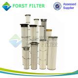 Sachet filtre plissé industriel de collecteur de poussière de Forst
