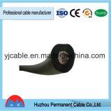 Especificações do cabo da soldadura que soldam o cabo e que prendem o cabo