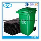 Sac d'ordures se pliant noir de tailles importantes