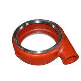 Pièces de pompe adaptées aux besoins du client par OEM de fer de fonte