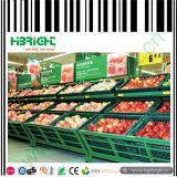 Mensole di visualizzazione del supermercato per le cremagliere delle verdure e delle frutta