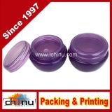 10g, опарникы контейнера высокого качества 10ml пурпуровые замороженные с внутренним вкладышем для состава, Creams, косметические образцы изделий красотки - BPA свободно