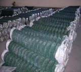 PVC 안전 철망사 (ISO9001)를 위한 입히는 체인 연결 담