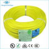 A borracha de silicone do cabo do UL cobriu o fio