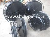 Poulie de guide pour la position hydraulique d'encavateur de moteur