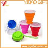 Чашки качества еды силикона складывая, легкое взятие (XY-FC-171)