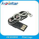 Wasserdichter Minimetall-USB-Speicher-Stock-Kristall USB Pendrive