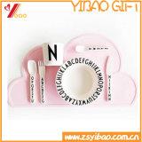 Тарелка плиты цельной усмешки силикона цельная обедая младенческая (XY-PI-191)