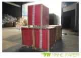 dos duplex de gris du panneau 300g avec l'emballage de rame