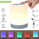 LED de la lámpara de mesa Despertador Altavoz Bluetooth para el teléfono