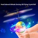 Detetando o helicóptero de cristal da esfera de vôo do disco