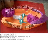 Barco de paleta, barco de parachoques, juego de la piscina