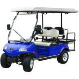 Veículo utilitário elétrico de golfe (DEL3022G2Z, ouro, 2 + 2 lugares)