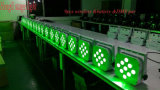 Luz sem fio impermeável da PARIDADE do diodo emissor de luz do controle 9*10W RGBW 4in1 do &DMX do &Battery para o estágio