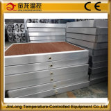 Pista industrial 7090/6090/5090, sistema de la refrigeración por evaporación de Jinlong de la refrigeración por evaporación