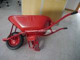 carrinhos de mão de roda de aço da bandeja 65L