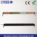 Sola barra ligera impermeable del CREE 5W LED de la fila 25inch 120W