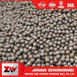 bola de acero de 5mm-150m m, bola de acero de pulido echada alto cromo, bola de acero de la prueba de impacto