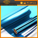 Горячая пленка подкраской стеклянного окна здания сбывания 20% голубая отражательная