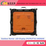 Оптовая цена Открытый Прокат Светодиодный дисплей P3.91 / P4.81 / P5.95 / P6.25 / P8 / P10, USD580